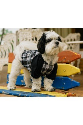pijama para cachorro pets xadrez roupa para cachorro 10