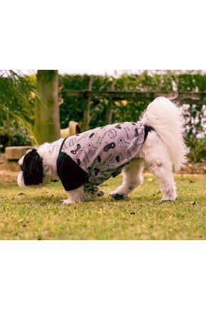 pijama para cachorro monstrinhos roupa para cachorro 2