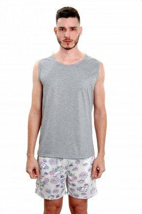 pijama de unicornio masculino adulto verao 6