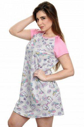 camisola de unicornio feminina manga curta 3