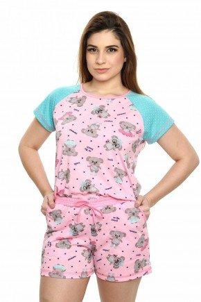 pijama feminino coala curto 6