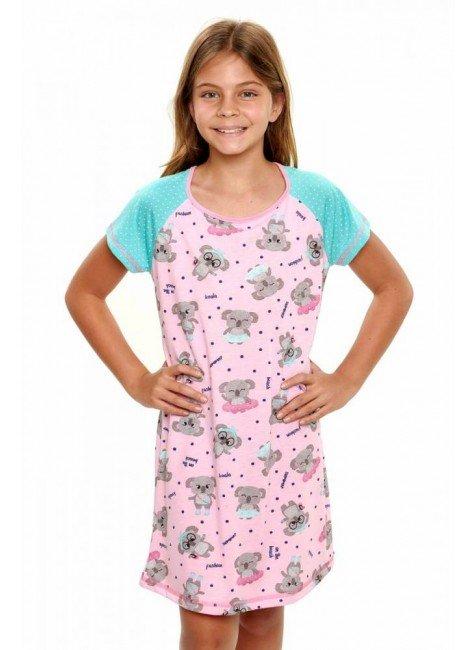 camisola infantil menina manga curta coalas 4