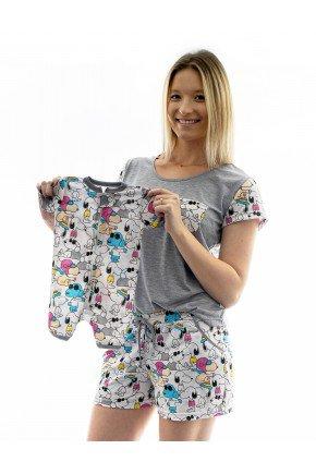 snoop pijama mae e filho recem nascido 2