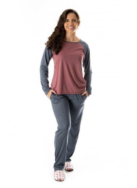 pijama feminino adulto comprido feminino adulto 01