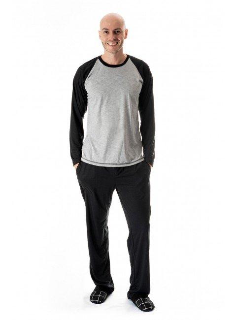 pijama masculino comprido masculino adulto 01