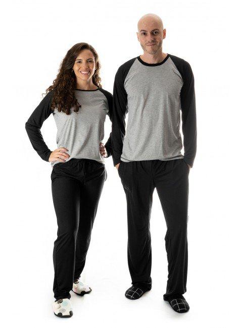 pijama de casal comprido pijamas casal namorados 01