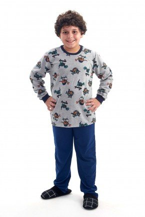 pijama de dinossauros flanelado infantil masculino menino dinossauros mania pijamas 4