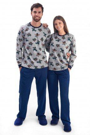 pijama de casal flanelado de inverno dinossauros mania pijamas 1