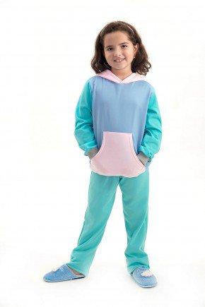 pijama flanelado candy color feminino infantil menina mania pijamas 2