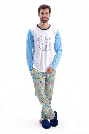 pijama masculino de dinossauros longo de inverno em malha brilha no escuro mania pijamas 6