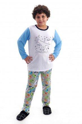 pijama de dinossauros infantil masculino menino brilha no escuro mania pijamas 2