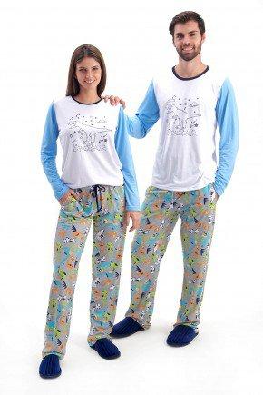 pijama para casal longo de inverno dinossauros brilha no escuro mania pijamas 2