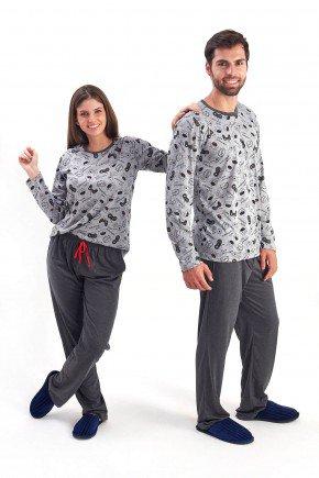 pijama de casal inverno longo comprido com calca monstrinhos videdo game mania pijamas 2