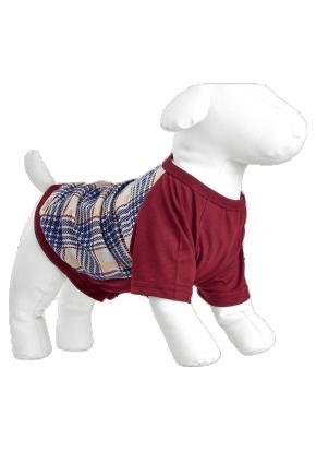 pijama para cachorro e dono xadrez mania pijamas 4