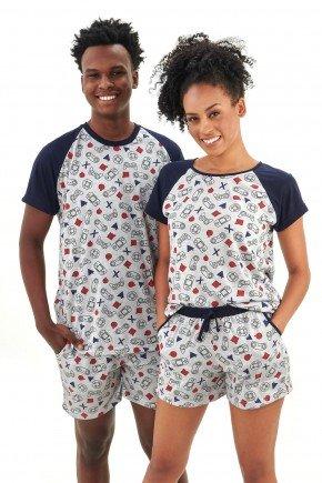 pijama de casal curto video games e geek mania pijamas essa imagem possui direitos autorais 2