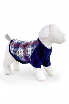 pijama para cachorro pets xadrez modelo familia 2021 roupa para cachorro 3