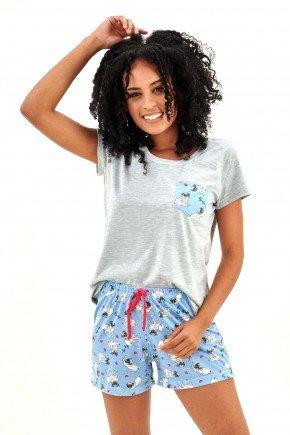 pijama feminino curto com shorts pug dog pets mania pijamas essa imagem possui direitos autorais 4
