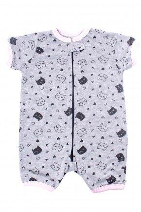 pijama macacao de bebe gatinhos mania pijamas