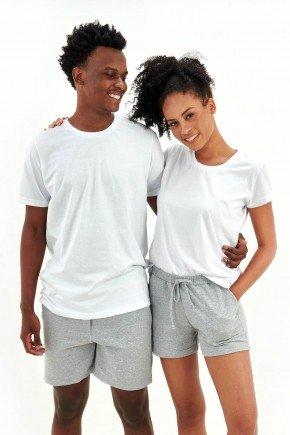 pijama de casal basico branco em algodao mania pijamas essa imagem possui direitos autorais 3